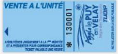 Ticket à l'unité