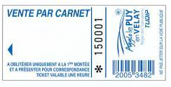 Carnet de 10 tickets